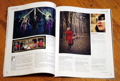 About Magazine, Canton Repository, publication, photos, Snow White, portraits, altimus pond
